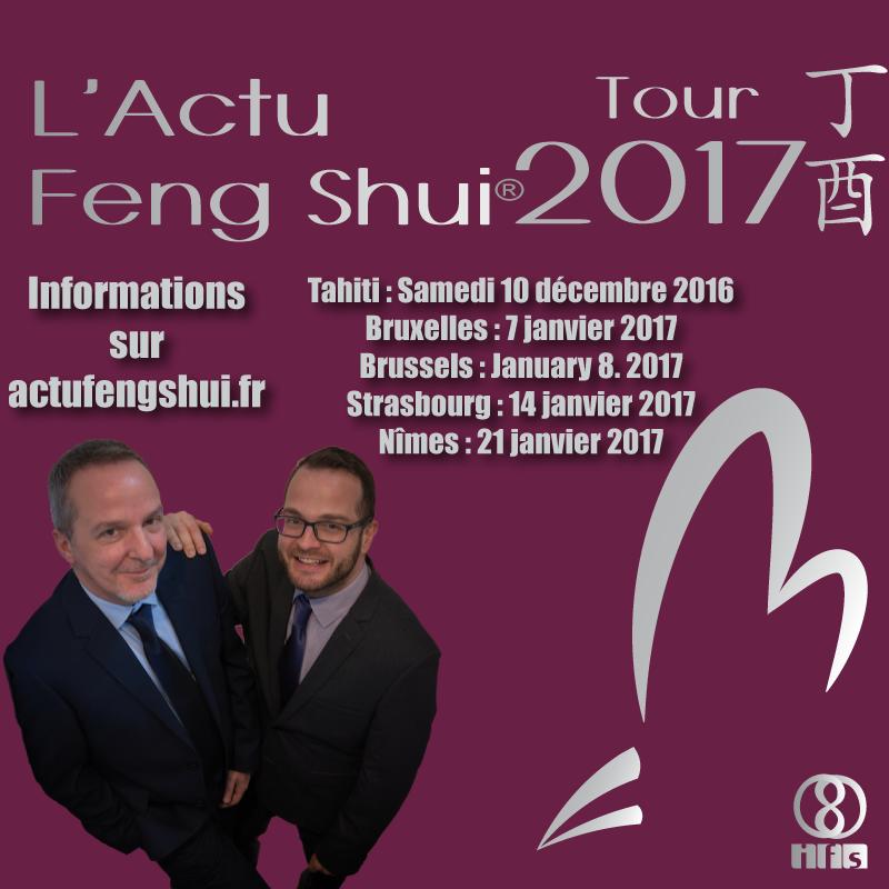 L'Actu Feng Shui® Tour 2017