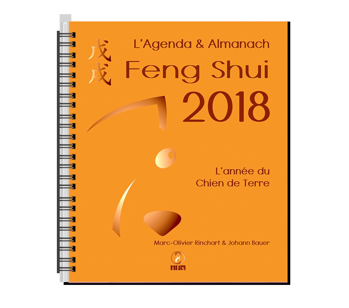 L'Agenda & Almanach Feng Shui 2018 est arrivé !