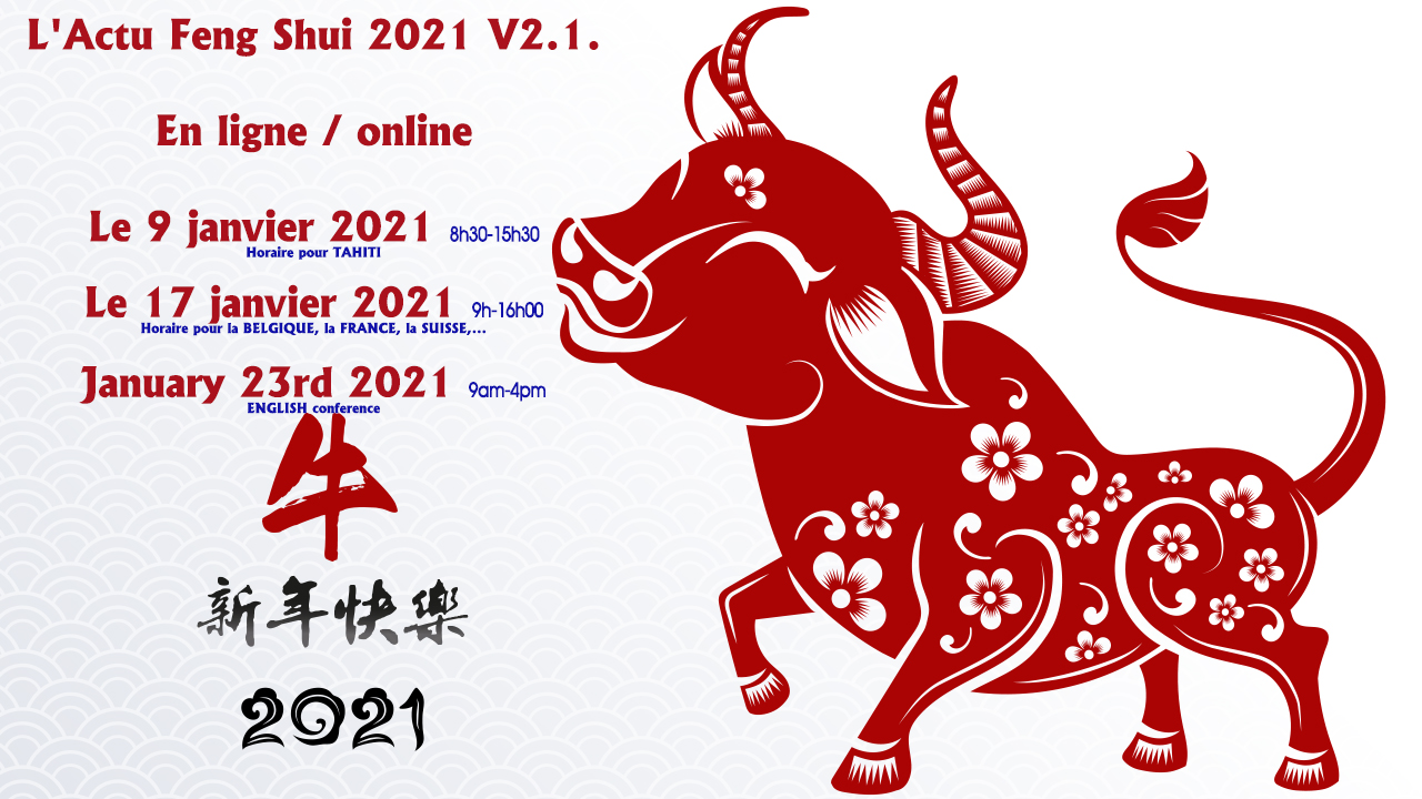 L'Actu Feng Shui 2021 V2.1 – Attend our annual talk online